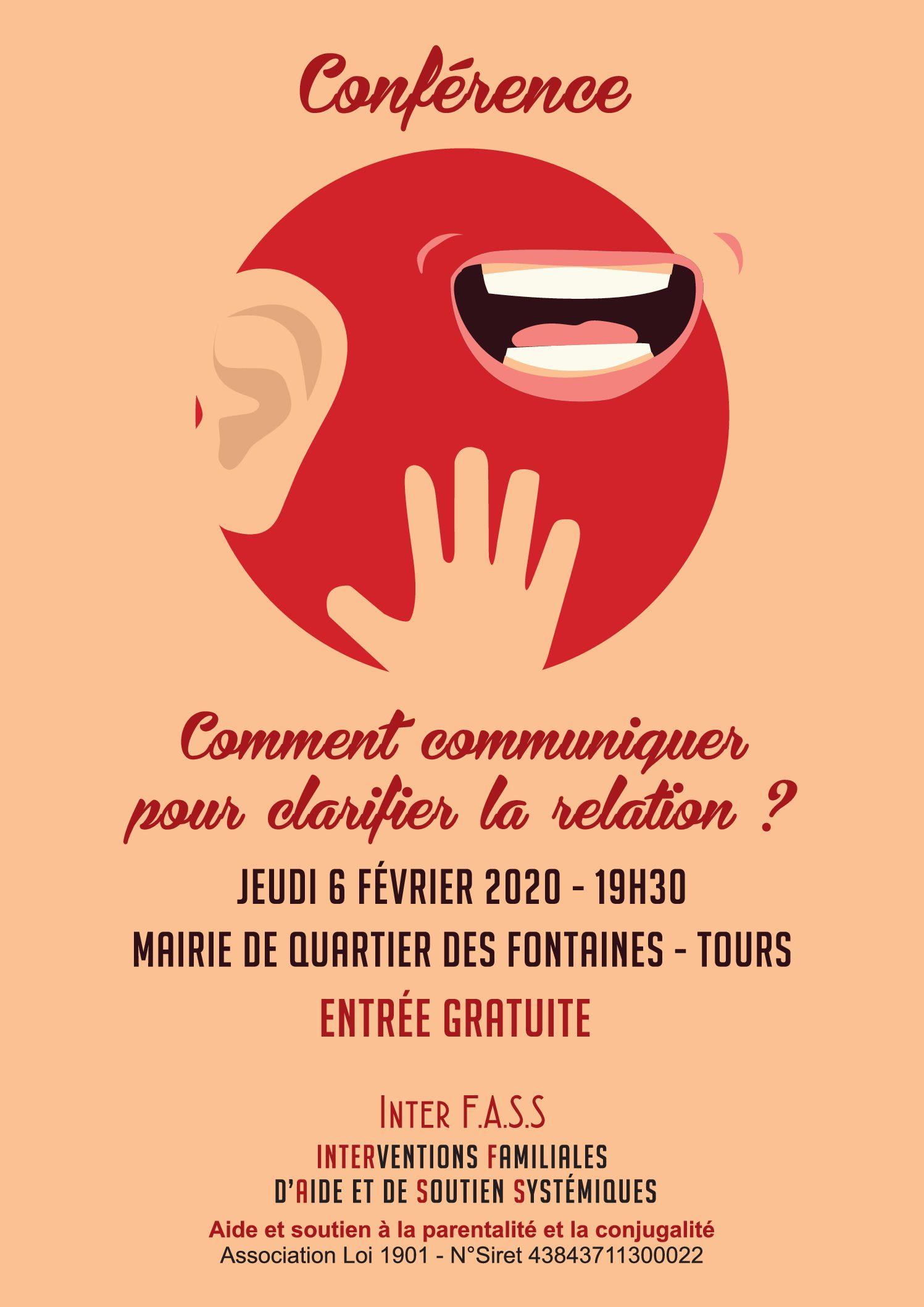 CONFERENCE «COMMENT COMMUNIQUER POUR CLARIFIER LA RELATION»